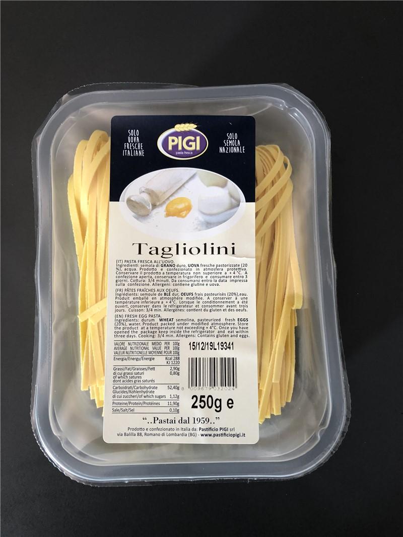 PIGI branded products | Fresh stuffed pasta