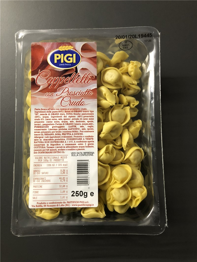 PIGI branded products | Fresh filled pasta