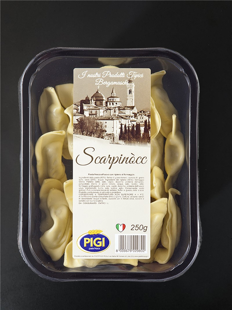 PIGI branded products | Typical bergamasque products
