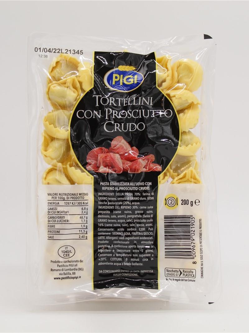 Product | TORTELLINI AL PROSCIUTTO CRUDO OGNI DI 200g
