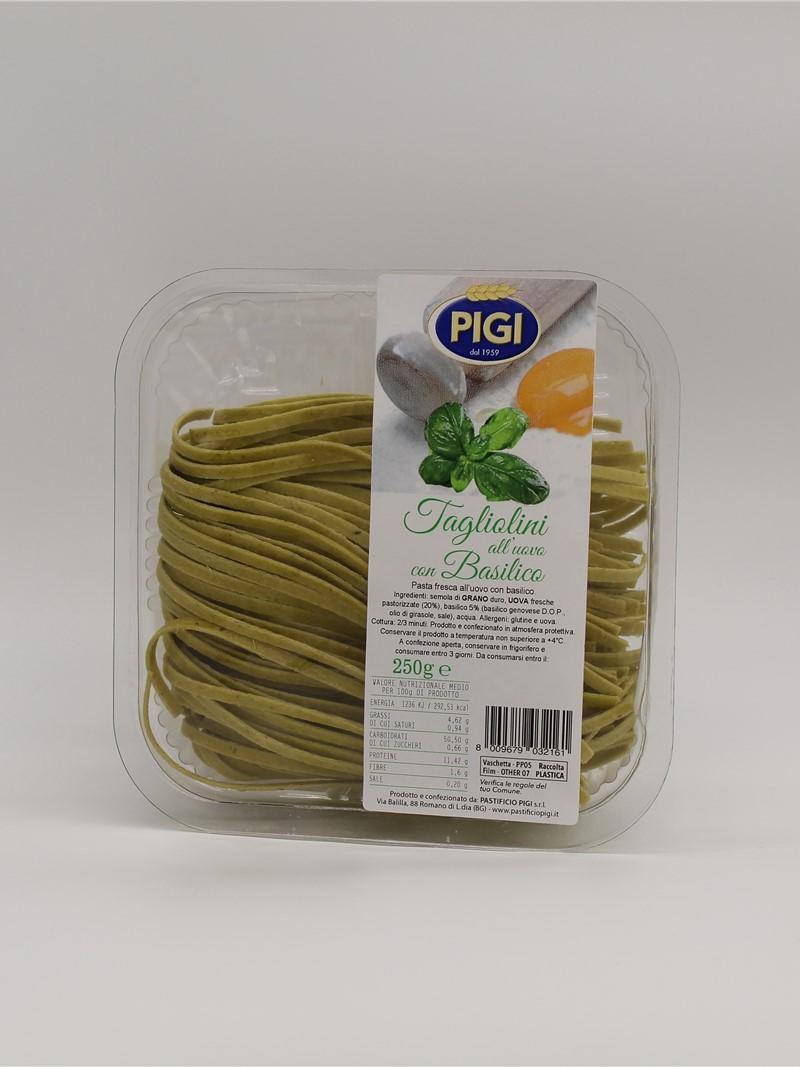 Product | TAGLIOLINI AL BASILICO DOP 250g