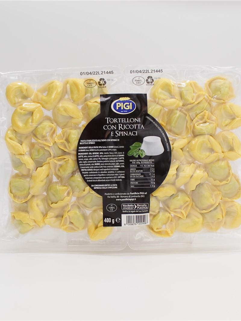 Product | TORTELLONI RICOTTA E SPINACI OGNI DI 400g