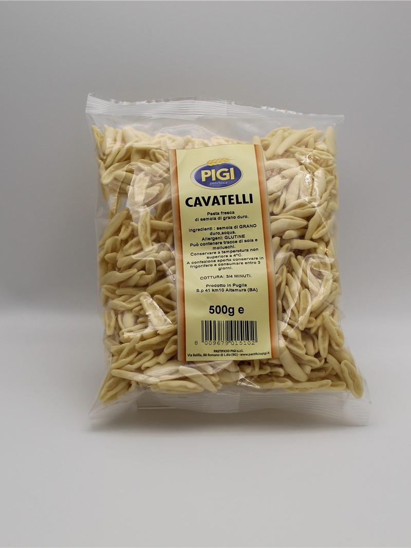 Prodotto | CAVATELLI 500g