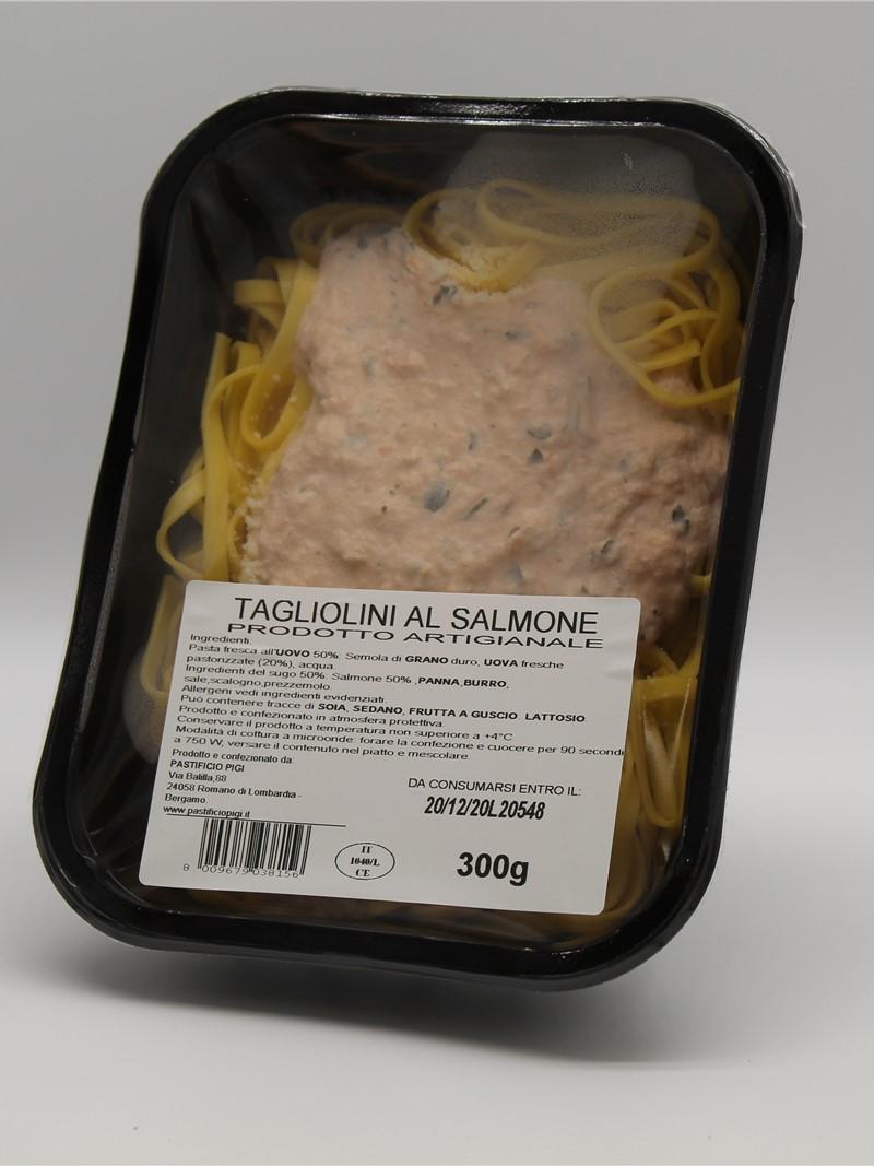 Prodotto | TAQGLIOLINI AL SALMONE 300g